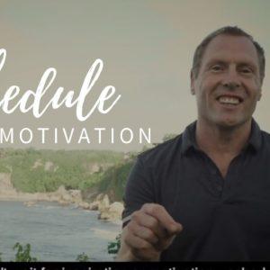 Active8me Mindset: Schedule Your Motivation