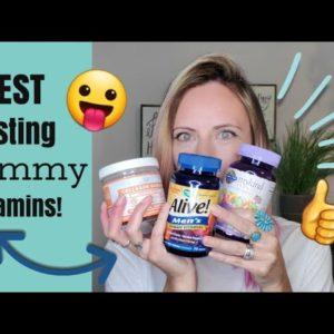 BEST Tasting Gummy Vitamins! 2020 (Prenatal, Mens & Kids)