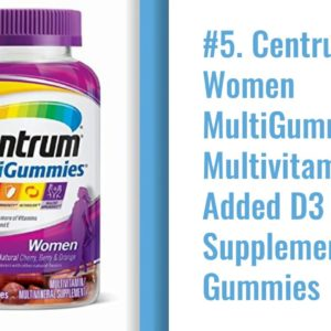 Best Vitamins For Women Over 50
