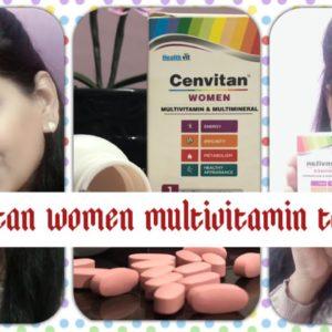 Healthvit Cenvitan Women Multi-vitamins & Multi-minerals Tablets    say bye -bye to weakness??♀️