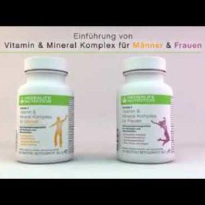Herbalife vitamins women and men