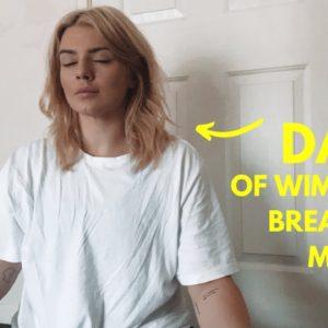 i tried wim hof's breathing method for 30 days - here's what happened.