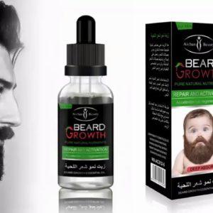 Beard Grow Facial Hair Supplement | #1 Mens Hair Growth Vitamins | For Thicker and Fuller Beard