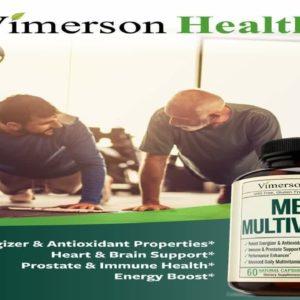 Men's Daily Multimineral Multivitamin Supplement. Vitamins A C E D B1 B2 B3 B5 B6 B12. Magnesium B5