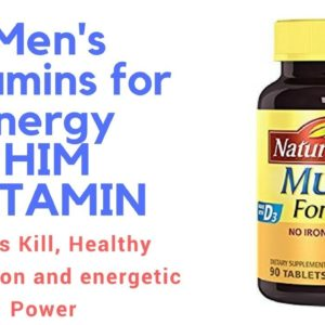 men's vitamins for energy HIM VITAMIN