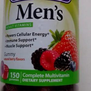"Men's vitamins ""Vitafusion"""