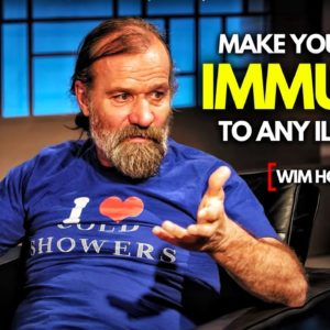Wim Hof - Reduce Inflammation & Become Immune To Any Illness - Remarkable Meditation
