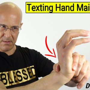 Over-Texting Hand Maintenance...Avoid Smartphone Hand Pain - Dr Alan Mandell, DC