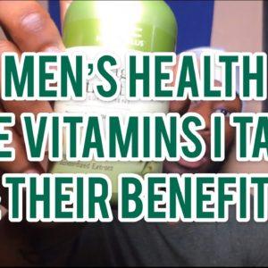 The benefits of taking vitamins   Men's Health