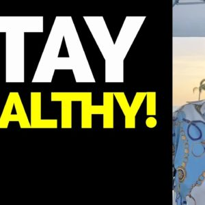 The Real Game Is Let's STAY HEALTHY! - Fat Joe Live Motivation