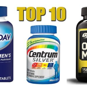 Top 10 Best Multivitamins for Men 2020