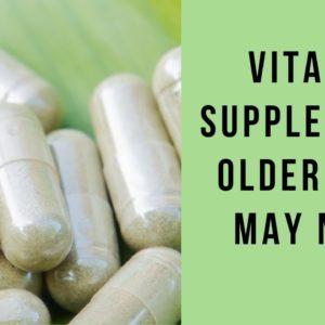 Vitamins For Men As You Get Older