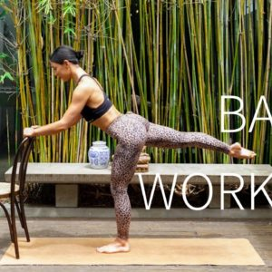 15 MIN LOWER BODY BARRE WORKOUT || Strong Legs & Glutes