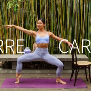 25 MIN CARDIO BARRE & PILATES || At-Home Full Body Workout