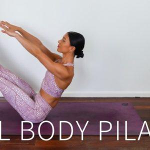 40 MIN FULL BODY WORKOUT || Intermediate/Advanced Pilates