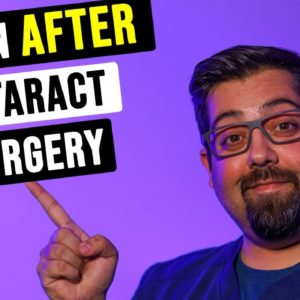 Vision After Cataract Surgery / What's Next? - Eye Doctor Explains