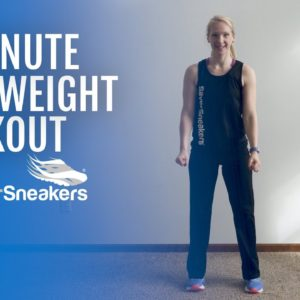 12-Minute Bodyweight Workout | SilverSneakers