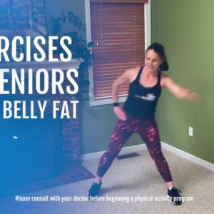 5 Exercises for Seniors to Lose Belly Fat