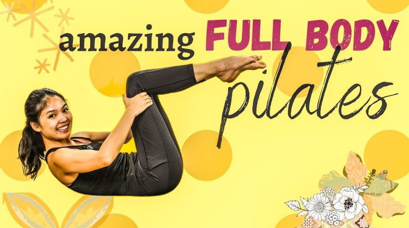 Amazing 20-Minute Full Body Pilates Workout | Low Impact At-home Workout with warm up & cool down