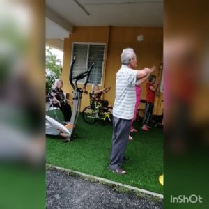 Taichi (exercise for the elderly people)