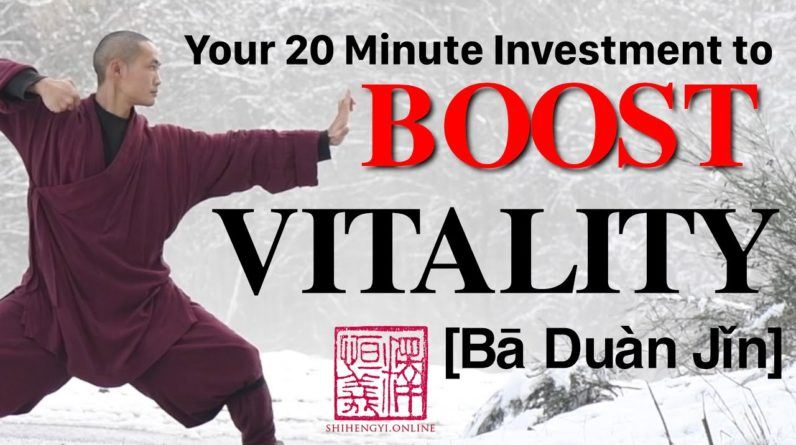 Shaolin Qi Gong ??♂️ 20 Minute Daily Morning Routine ??♀️ 八段锦 Ba Duan Jin (Complete Form)