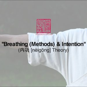 Adding Content to Form: Breathing (Methods) & Intention in Qi Gong Practice