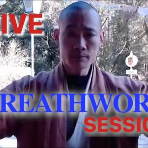 ? Time To Breath ? 2. Live Session with Shi Heng Yi Online❓Q&A❗️