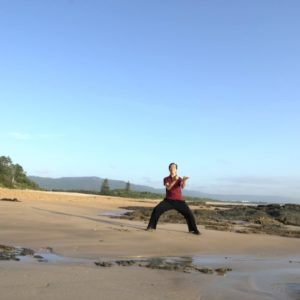 Morning Walk on the Beach - Tai Chi for Energy (Parts 1 and 2) Demonstration | Dr Paul Lam