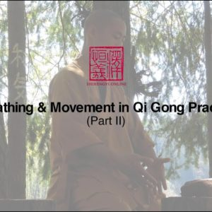 Part 2 - Breathing & Movement in Qi Gong Practice