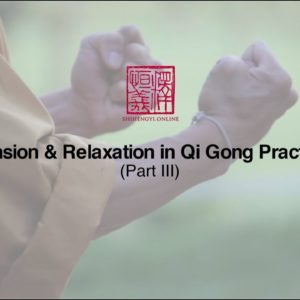 Part 3 - Tension & Relaxation in Qi Gong Practice