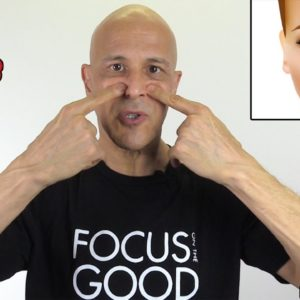 Sinus Self-Massage for Instant Drainage & Pressure Relief | Dr. Mandell