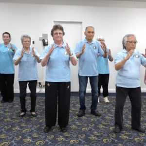 Demonstration of the Tai Chi for Energy and Part II at the 22nd Annual Tai Chi Workshop