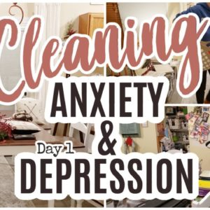 CLEANING YOUR HOUSE WHILE LIVING WITH ANXIETY AND DEPRESSION  (CLEAN YOUR ANXIETY AND DEPRESSION)