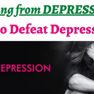 How to deal with DEPRESSION while striving to achieve something big ? Don't stop, keep working hard.