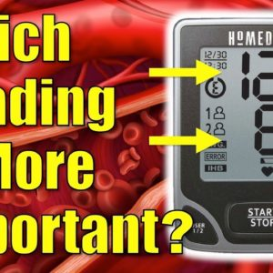 Which Blood Pressure Reading is More Important, Systolic or Diastolic?