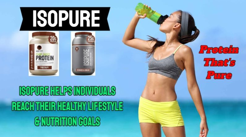 ISOPURE! More Than Muscle! Isopure Helps Active Individuals Reach Their Healthy Goals.