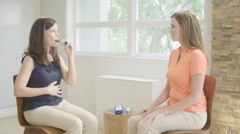 The Breather 1.1 Respiratory Muscle Trainer | AliMed
