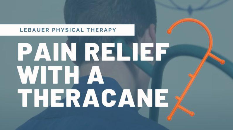 Myofascial Release & Self Massage with a Theracane | LeBauerPT Greensboro, NC