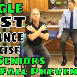 Single Best Balance Exercise for Seniors & Fall Prevention
