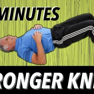 5 Minutes to Stronger Knees (Beginner)