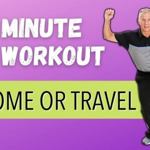 Best 8 Minute At Home Or Traveling Cardio Workout!!