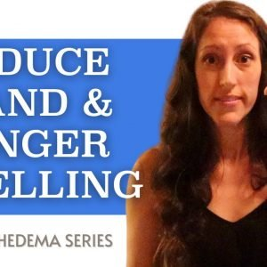 DIY Lymphatic Drainage Exercises for Swelling Hands | Reduce Swelling and Lymphedema in Fingers