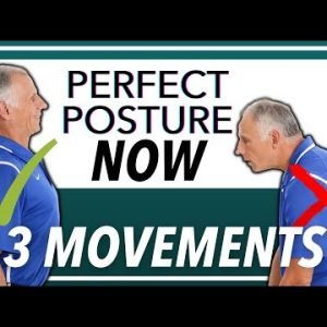 How To FIX Your POSTURE With 3 Movements (FOREVER) Updated