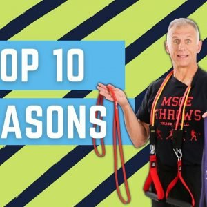 Top 10 Reasons Why Resistance Bands Beat Free Weights